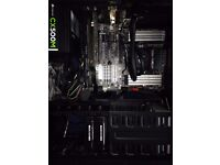 Cool gaming PC + accessories