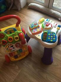 Vtech Walker and activity table