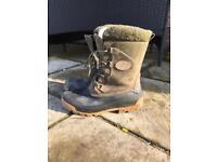 Carp Skee-tex boots (size 10)
