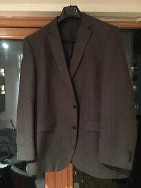 KJ (Karl Jackson) charcoal suit jacket 46R