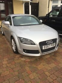 Audi TT 2.0 FSi turbo petrol 6 speed. Manual coupe 2007 57 plate