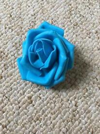 Turquoise foam rose