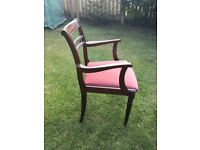 Lovely classic drawing room chair/arm chair. £25