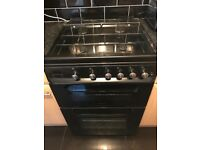 Servis Black Double Gas Oven