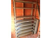 Shed/garage shelving