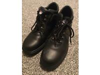 Steel toe boots size 10 - Himalayan