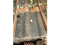 Marley double roman roof tiles