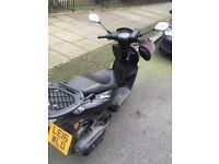 2016 Peugeot Kisbee 102cc automatic scooter