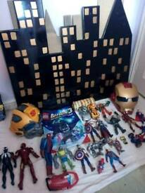 Toy Action Figure Bundle Joblot