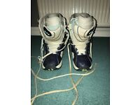 Ladies Snowboarding Boots