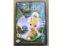 DISNEY TINKERBELL DVD ENTER THE WORLD OF FAIRIES