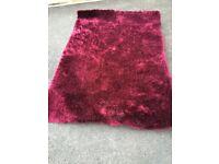 Next sparkle purple rug