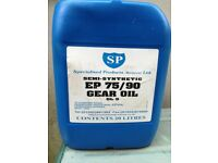 SP Specialised Products Semi Synthetic EP75/90 Gear Differential Oil GL5 20 Litres Car Van Lorry
