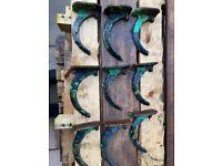 Cast iron decorative gutter brackets