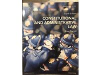 Public Law (Constitutional and administrative law)