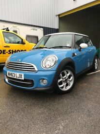 Mini Cooper D - Blue (2013) 63-Plate , Only 22,440 Miles, Superb Condition Throughout, 1 Owner