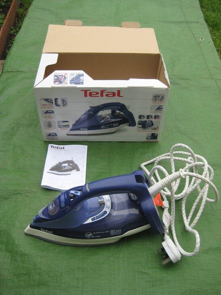 Tefal Ultimate Anti-Calc 300 Iron - Model FV9630