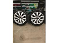 Genuine Audi a1 alloys