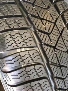 225/45/17 Pirelli sottozero3 runflat presque nouveau
