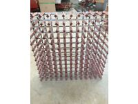 Large 156 bottle wine rack
