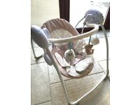 Beautiful Baby Swing from Mothercare in mint condition