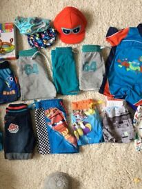 Baby boy shorts and swimwear