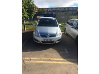 VAUXHALL ZAFIRA 1.6 EXCLUSIVE PETROL 58 PLATE MANUAL, 7 SEATER