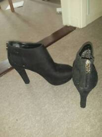 Black party ankle boots /shoes