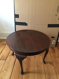 Small coffee table antique style