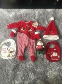 Mamas & Papas Baby's first Christmas Set
