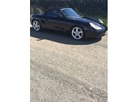 Porsche Boxster 2.5 1999 Black with black leather interior