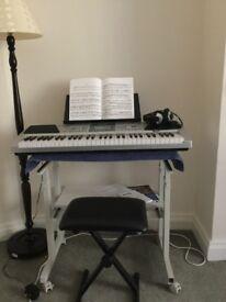 Rock - Jam 61- Keys Digital electic piano package