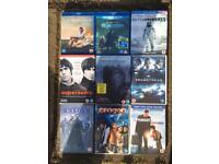 3 blue ray & 6 DVD's including oasis and the revenant