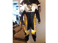 Mini moto race leathers