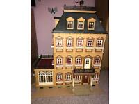 Playmobil grand mansion with extension/dolls house