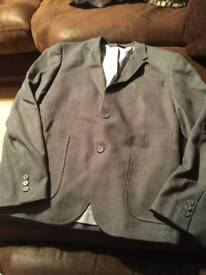 Grey suit jacket size small
