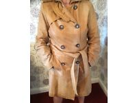 Lovely Zara Vintage Buttersoft Ladies Leather Coat