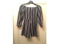 Beautiful fitted boohoo playsuit - size 8/10