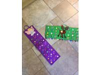 2 Advent Calendars -(PRICE IS FOR BOTH) - NEW