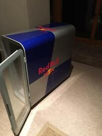 REDBULL MINI DRINKS FRIDGE, AS NEW. CHILLS DRINKS TO AN ICE COLD