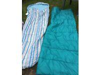 Adult sleeping bags (2)