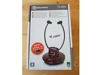HEAD Phones brand new TV Personal Listener Stereo & Wireless