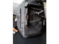 Lowepro Nova Micro AW Photo bag camera with tags