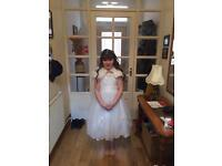 Bridesmaid dress age 9-10