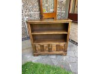 Bookcase wooden solid wood