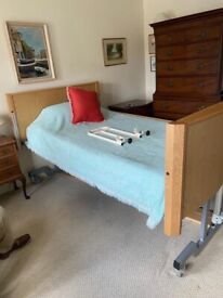 Hospital small double bed