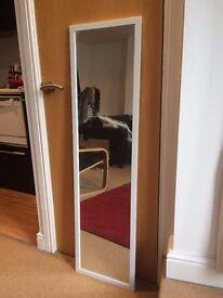 IKEA NISSEDAL white mirror