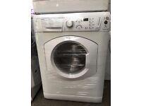 HOTPOINT AQUARIUS free standing washing machine 7 kg display model fully working order