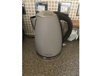 Morphy Richards grey kettle