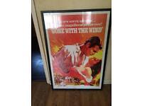Huge framed print